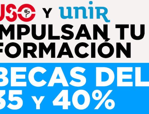 Becas de entre el 35% y 40% de UNIR para los afiliados a FEUSO