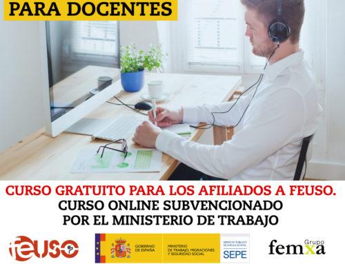 Curso online «Teleformación para docentes»