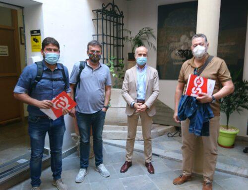 Encuentro con el concejal de Educación de Jaén