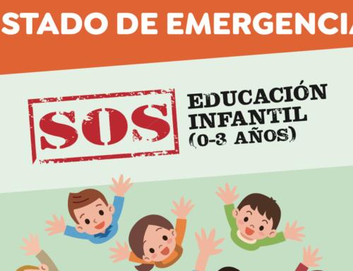 Reunión de la Mesa Negociadora del Convenio de Centros de Educación Infantil (13-XI)