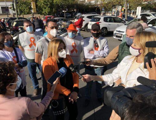 Cerca de 25.000 vehículos participan en las manifestaciones contra la Ley Celaá en Andalucía