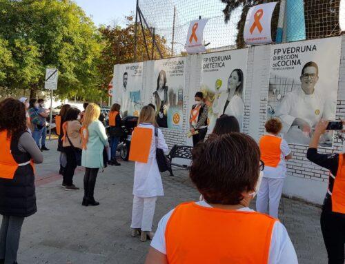 Dos minutos de silencio en la puerta de los colegios concertados y privados andaluces contra la LOMLOE