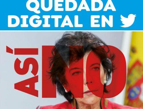 Quedada digital contra la Ley Celaá en Twitter el 5 de noviembre