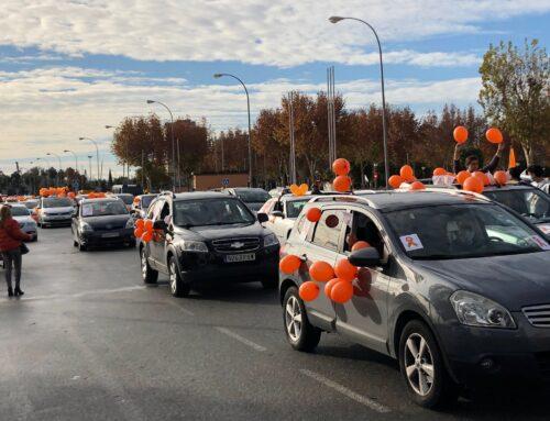 5.000 vehículos volvieron a mostrar en Andalucía su oposición a la Ley Celaá