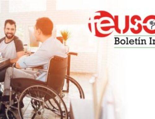 Disponible el primer boletín digital de FEUSO Andalucía con temas de interés del ámbito de Atención a la Discapacidad
