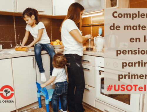 Modificación del complemento de maternidad en las pensiones y extensión a los padres