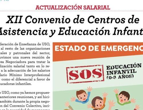 XII Convenio de Centros de Asistencia y Educación Infantil