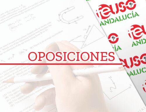 Oposiciones: Resolución provisional del personal admitido y excluido