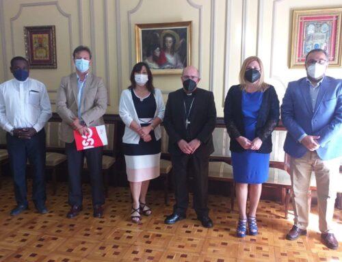 FEUSO Andalucía mantiene un encuentro con el Obispo de Huelva