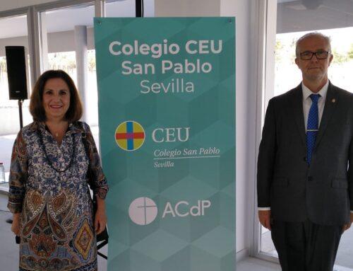 FEUSO Andalucía, presente en la inauguración del Bachillerato del Colegio CEU San Pablo de Sevilla