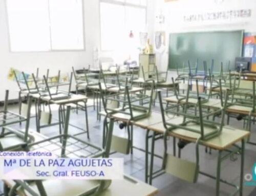 Nuestra secretaria general repasa temas de actualidad en Educación en Onda Cádiz TV