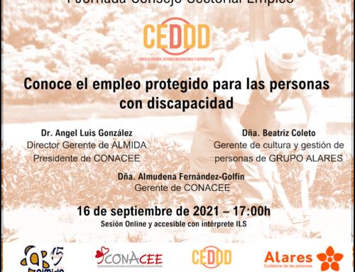 Cita para conocer la oportunidad para la inclusión que representan los Centros Especiales de Empleo