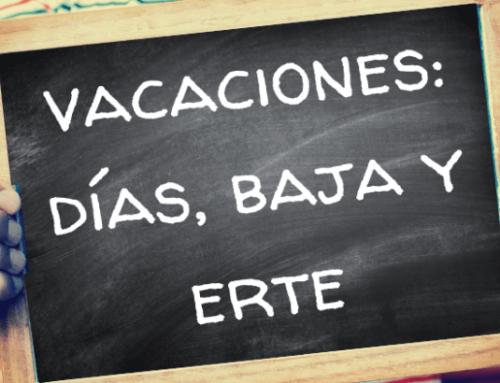 Vacaciones: cálculo de días, cómo afecta una baja o un ERTE