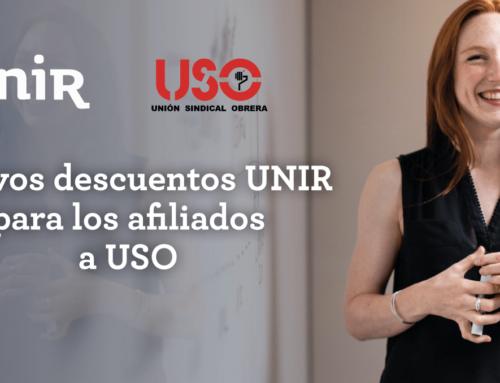 Descuentos y ofertas especiales de UNIR para los afiliados a USO